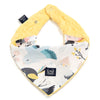 Soft Neck Scarf - Cute Birds Vivid - Sunshine