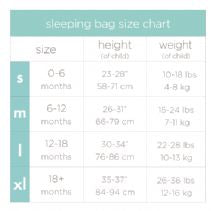Aden and Anais - high seas 1 TOG classic muslin sleeping bag S - Artock Australia