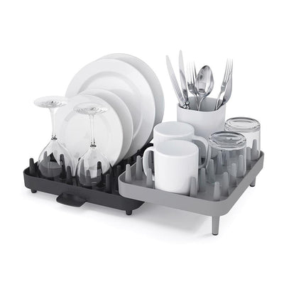Joseph Joseph - Connect Adjustable 3 Piece Dish - Grey - Artock Australia