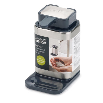 Joseph Joseph - Surface Stainless-Steel Soap Pump - Artock Australia