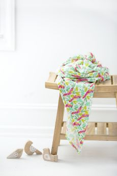 Aden and Anais - birds of paradise classic swaddle single - Artock Australia