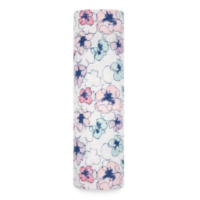 Aden and Anais - trail blooms - flora single swaddle - Artock Australia