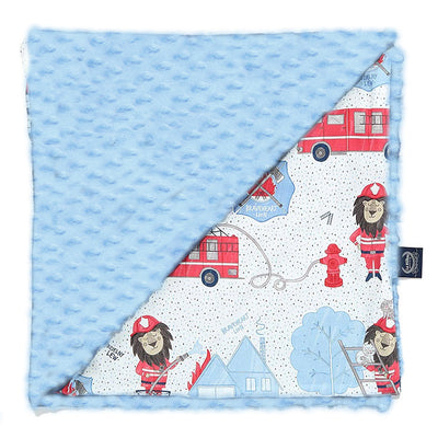 Light Blanket Large Braveheart Lion Blue | Sky (Light Blue)
