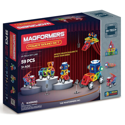 Power Sound Set - Magformers - Artock Australia