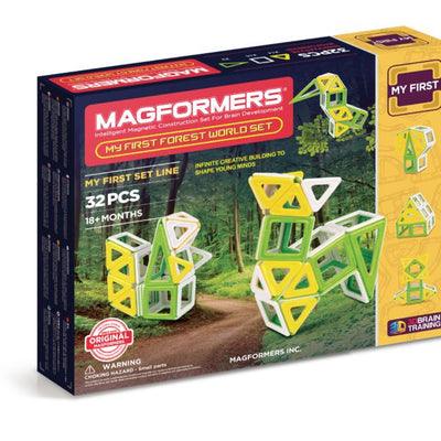 My First Forest World Set - Magformers - Artock Australia