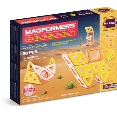 My First Sand World Set - Magformers - Artock Australia