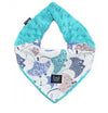 Soft Neck Scarf - Manta Ray - Teal