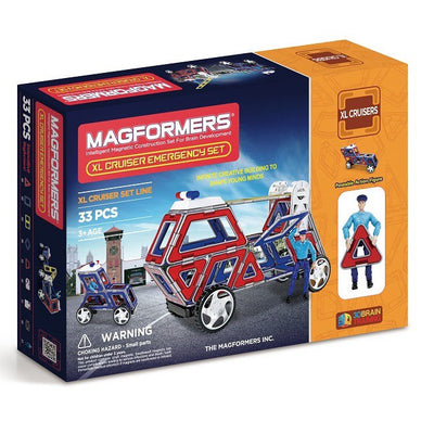 XL Cruisers Emergency Set 33 - Magformers - Artock Australia