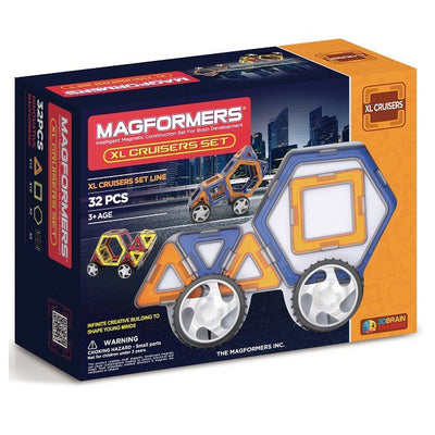 XL Cruisers Car Set 32 - Magformers - Artock Australia