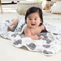 Aden and Anais - mickey's 90th - scatter metallic dream blanket (limited edition) - Artock Australia