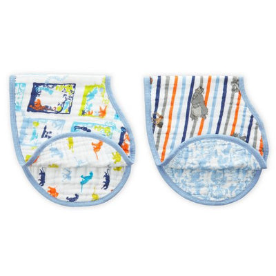 Aden and Anais - disney baby classic burpy bibs jungle book 2-pack - Artock Australia