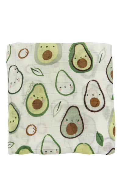 Fitted Crib Sheet - Avocado
