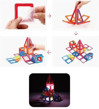 LED Lighted Set - Magformers - Artock Australia