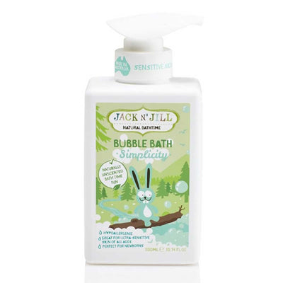 Jack N' Jill | Kids Bubble Bath Simplicity (300ml) | Artock Australia