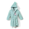 La Millou - Bathrobe Bamboo Soft Large - Doggy Unicorn - Mint - Artock Australia