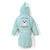 Bathrobe Bamboo Soft Medium - Doggy Unicorn - Mint