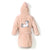 Bathrobe Bamboo Soft Medium - Unicorn Sugar Bebe - Powder Pink