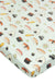 Fitted Crib Sheet - Sushi