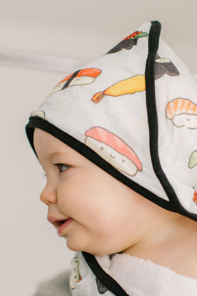 Loulou Lollipop | Hooded Towel Set - Sushi | Artock Australia