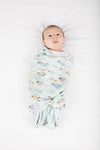 Loulou Lollipop - Muslin Swaddle - Up Up Away - Artock Australia