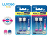 Lux 360 Kids Sonic Toothbrush Refills (2 or 4 Brush Heads) - Vivatec - Artock Australia