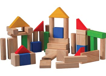 PlanToys | 50 Blocks | Artock Australia