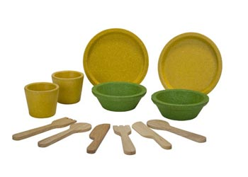 PlanToys | Tableware Set | Artock Australia