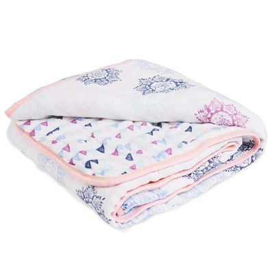 aden by aden and anais - pretty pink classic dream blanket - Artock Australia