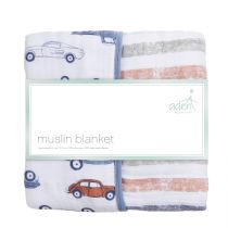 aden by aden and anais - hit the road classic dream blanket - Artock Australia