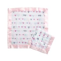 aden by aden and anais - pretty pink issie muslin security blankets 2pack - Artock Australia