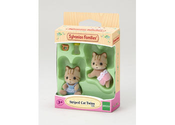 Sylvanian Families | Striped Cat Twins | Artock Australia