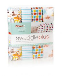 aden by aden and anais - zutano - sunday drive 4pack muslin swaddles - Artock Australia