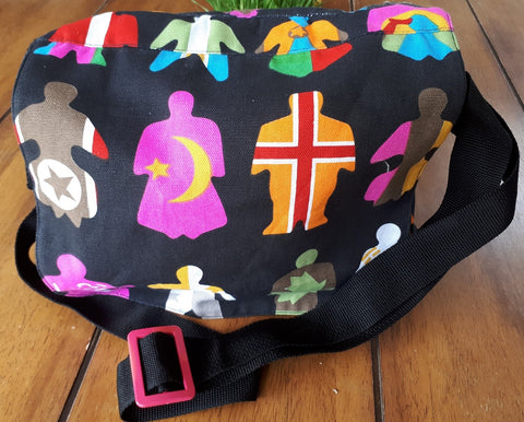 Fun Fabric Sling bag handmade by Westlake Upliftment Project