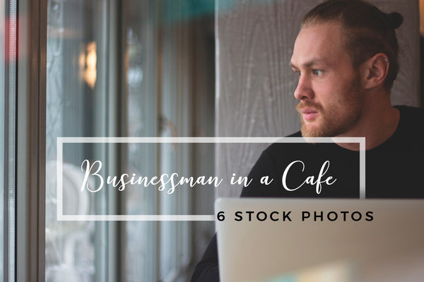 Photo - Businessman In A Cafe: 6 Stock Photos