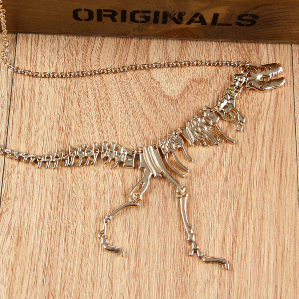 Gothic tRex Dinosaur Necklace & Pendant Gift For Mom!-GearGifts.com