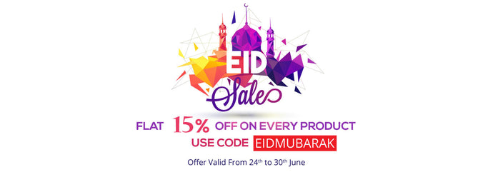 This Eid celebrate with Benison India