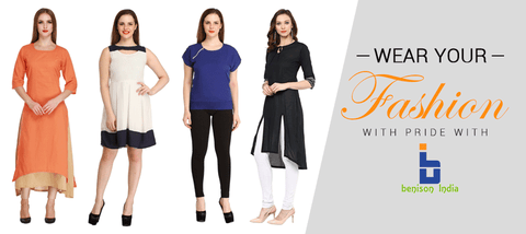 Wear your fashion with pride with Benison India