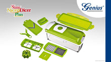Benison India 14-Piece Round Fruit & Vegetable Cutter/Chopper/Dicer/Mandoline/Nicer/Slicer/Peeler-Benison India-Benison India