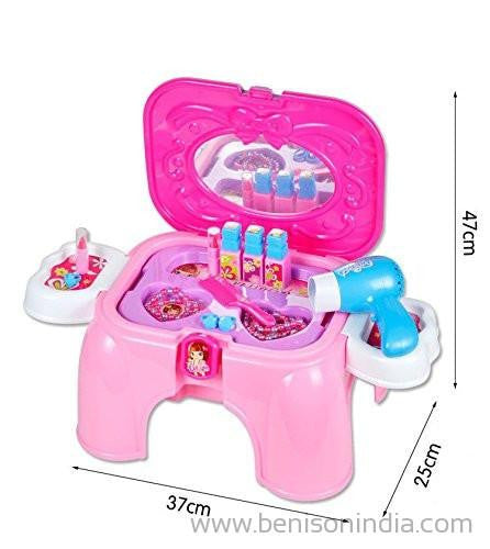 Benison India 2 In 1 Beauty Play Set & Chair For Your Little Princess-Benison India-Benison India