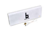Benison India 30000 mAh Turbo Super Power Bank with 3 USB Ports-White-Mobile Accessories-Benison India-White-Benison India