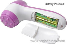 Benison India 6 In 1 Smoothing Body & Facial Beauty Care Massager-Benison India-Benison India