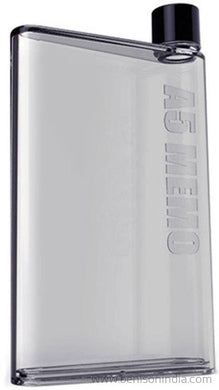 Benison India A5 Memo Note Book Ultra Sim 420 ml Water Bottle (Set of 1, Black )-Benison India-Benison India