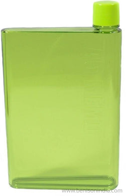 Benison India A5 Memo Note Book Ultra Sim 420 ml Water Bottle (Set of 1, Green)-Benison India-Benison India