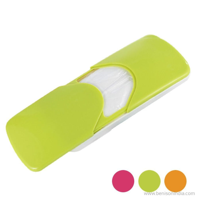 Benison India Auto Accessories Sun Visor Car Paper Napkin Box Holder Vehicle Tissue Dispenser -Green-Benison India-Benison India