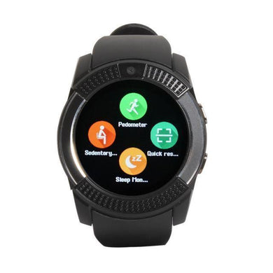 Benison India Bluetooth GB8 Smart Watch-Black-Electronics-Benison India-Black-Benison India