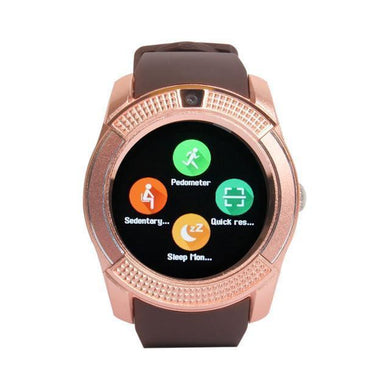 Benison India Bluetooth GB8 Smart Watch-Golden-Electronics-Benison India-Golden-Benison India