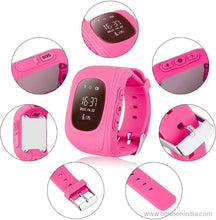 Benison India Child GPS Wrist Watch with SOS Call Monitor & Anti Lost Monitor-Mobile Accessories-Benison India-Pink-Benison India