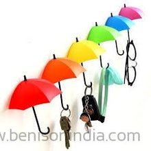 Benison India Colorful Decorative Umbrella Drop Wall Mount-Benison India-Benison India