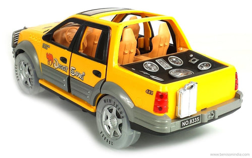Desert Safari Car Truck with Flashing Lights, Music | Benison India