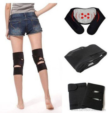 Benison India Hot Shapers knee magnetic kneepad support with velcro strap Fitness Grip-Benison India-Benison India